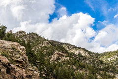 San isabel national forest rocky mountain views in colorado Royalty Free Stock Photos