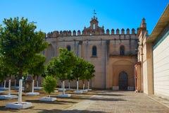 San Isidoro Campo Monastery a Santiponce Fotografie Stock