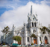 San Isidro Catholic Church Royaltyfri Bild