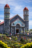 Zarcero Catholic Church Royalty Free Stock Photography