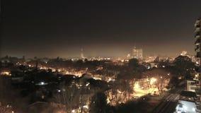 San Isidro at Night stock video