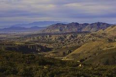 San Jacinto Mountains Royalty-vrije Stock Afbeelding