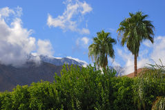 San Jacinto Mountains Stock Photography