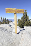 San Jacinto Summit, California Stock Photo
