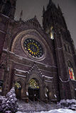 San Jaime unió la iglesia Imagen de archivo libre de regalías
