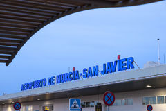 San Javier airport in Murcia, Spain Royalty Free Stock Photography