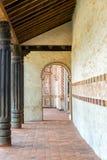 SAN Javier Church Corridor Στοκ Φωτογραφίες