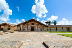 San Javier Church Exterior Lizenzfreie Stockbilder