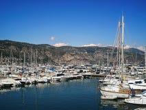 San Jean Cap Ferrat del porto Fotografie Stock Libere da Diritti
