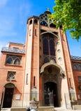 San Jean de Mormartre, Parigi di Churche Immagine Stock Libera da Diritti