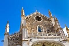 San Jeronimo church in Madrid Stock Photos