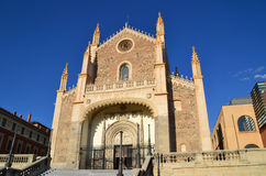 San Jeronimo el Real Church, Madrid Royalty Free Stock Image