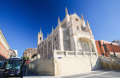 San Jeronimo el Real church in Madrid, Spain Royalty Free Stock Photography