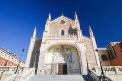San Jeronimo el Real church in Madrid, Spain Stock Photo