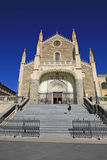 San Jeronimo el Real that  is a Roman Catholic church. MADRID, SPAIN Stock Image