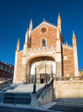 San Jeronimo el Real (St. Jerome Royal Church), Madrid, Spain Stock Image