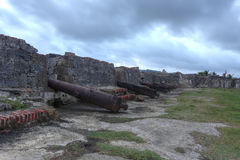San Jeronimo Fort in Portobelo, Panama. Stock Images