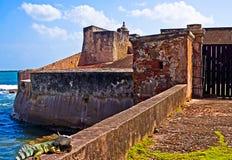 San Jeronimo fort, San Juan, P.R. Stock Photo