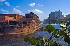 San Jeronimo fort, San Juan, P.R. Royalty Free Stock Photo