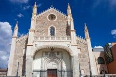 San Jeronimo kościół zdjęcie stock