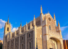 San Jeronimo Real Church near Prado Museum - Madrid Stock Image