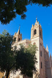 San Jeronimo Royal Church near Prado Museum - Madrid Stock Image