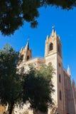 San Jeronimo Royal Church near Prado Museum - Madrid Stock Image