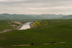 San Joaquin Valley i vår royaltyfri bild