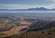 San Joaquin wzgórza w kaliforniach południowych fotografia royalty free
