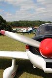 SAN Jodel D 140 Mousquetaire Flugzeug Lizenzfreies Stockbild