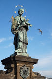 San John di Nepomuk Fotografie Stock Libere da Diritti