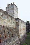San jorge castle in lisbon Royalty Free Stock Images