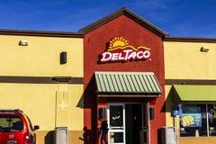 San Jorge - circa diciembre de 2016: Del Taco Fast Food Location Del Taco se especializa en la comida mexicana y americana II Foto de archivo