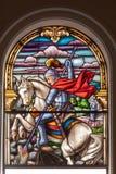San Jorge en la catedral de Santo Ángel Fotografía de archivo libre de regalías