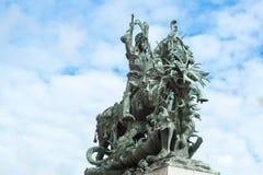 San Jorge y el dragón, Estocolmo Fotos de archivo libres de regalías