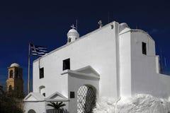 San Jorge y x27; capilla de s, el monte Licabeto, Atenas, Grecia Imagen de archivo libre de regalías
