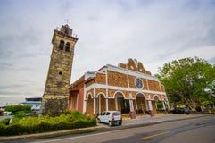 San José de David är en stad och en corregimiento Royaltyfria Foton