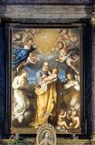 San José con el bebé Jesús Imagenes de archivo