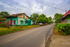 San José de David is a city and corregimiento Stock Image
