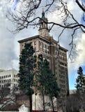 San Jose arkitektur i vår royaltyfri foto