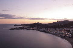 San Jose Cabo de Gata, Andalucia arkivbilder