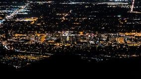 San Jose, California night view royalty free stock images