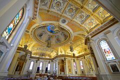San Jose Cathedral Basilica, Califórnia, EUA Imagem de Stock Royalty Free