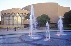 San Jose Center för föreställningskonsten, San Jose, Kalifornien royaltyfria foton