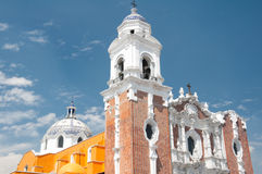 San Jose church, Tlaxcala (Mexico) Royalty Free Stock Photos