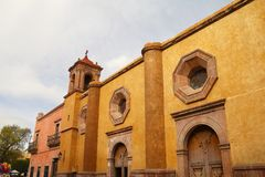 San jose de gracia church I Stock Image