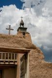 San Jose de Gracia Church in Las Trampas, New Mexiko Lizenzfreies Stockbild