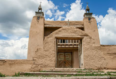 San Jose de Gracia Church in Las Trampas, New Mexiko Stockfoto