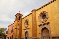 San Jose de gracia kyrka I fotografering för bildbyråer