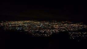 San Jose de noche royaltyfria foton